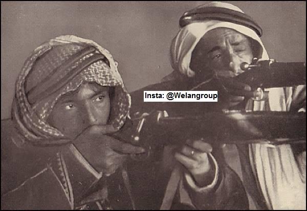 الامير فواز الشعلان عام ١٩٢٧م شيخ قبيلة الرولة من عنزة