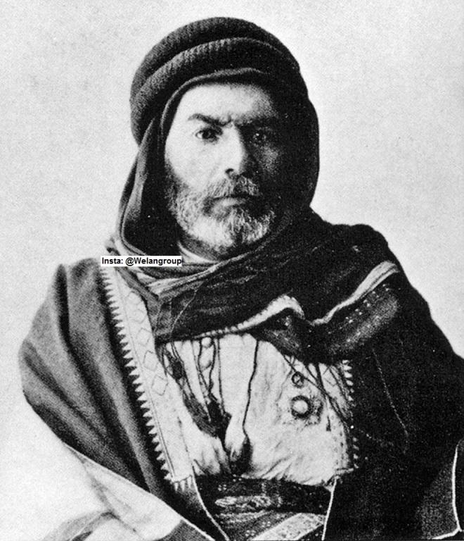 تاجر الخيل حافظ حكمت تاجر بادية عنزة سورية 1906 م