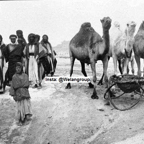 رجال من قبيلة الحسنة من بادية الحماد عام 1900م