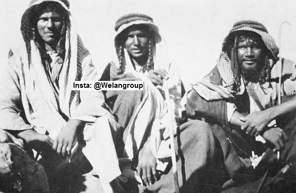رجال من قبيلة عنزه