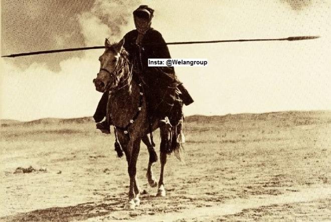 فارس من فرسان قبائل عنزة 1917